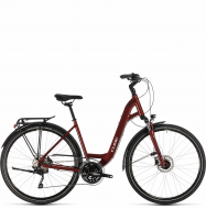 Велосипед Cube Touring EXC Easy Entry (2020) red´n´grey