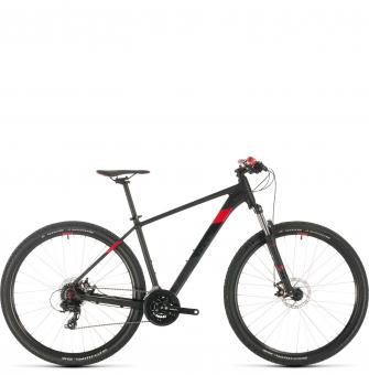 Велосипед Cube Aim (2020) black´n´red