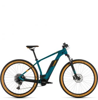 Электровелосипед Cube Reaction Hybrid Pro 500 (2020) pinetree´n´orange