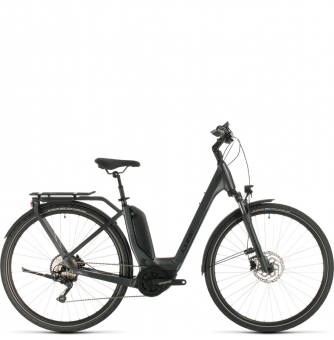 Электровелосипед Cube Touring Hybrid Pro 500 Easy Entry (2020) iridium´n´black