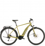 Велосипед Cube Touring Hybrid One 500 (2020) green´n´white
