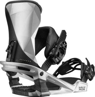 Крепления для сноуборда Salomon Alibi metallic grey (2020)