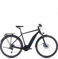 Электровелосипед Cube Touring Hybrid One 500 (2020) black´n´blue