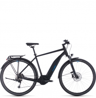 Велосипед Cube Touring Hybrid One 500 (2020) black´n´blue