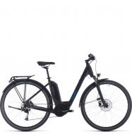 Велосипед Cube Touring Hybrid One 500 Easy Entry (2020) black´n´blue