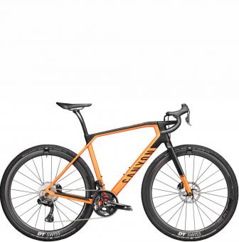 Велосипед гравел Canyon Grail CF SLX 8.0 Di2 Forest Orange