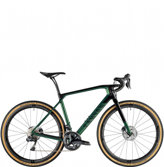 Велосипед гравел Canyon Grail CF SLX 8.0 Di2 Inpace Green