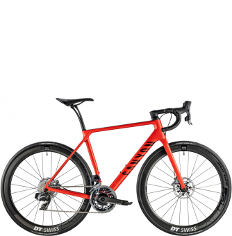 Велосипед Canyon Endurace CF SLX Disc 9.0 SL Kerosene Red