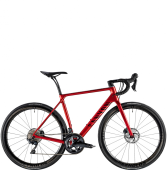 Велосипед Canyon Endurace CF SL Disc 8.0 Aero Hellfire Red