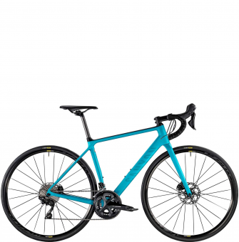 Велосипед Canyon Endurace WMN CF SL Disc 7.0 Aquamarin