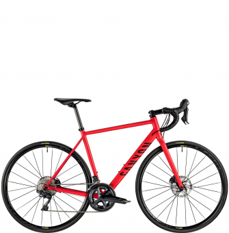 Велосипед Canyon Endurace AL Disc 8.0 Russian Race Red