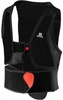 Защита спины Salomon Flexcell Junior black/red (2020)