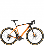 Велосипед гравел Canyon Grail CF SLX 8.0 Di2 Orange/Black