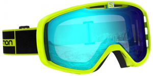 Маска Salomon AKSIUM NEON YELLOW (2020)
