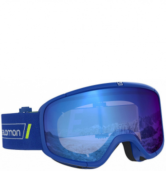 Маска Salomon Four Seven Sigma race blue (2020)