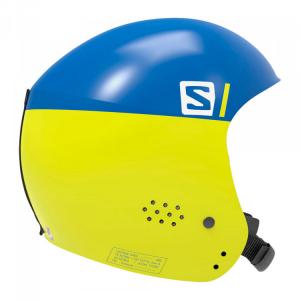 Шлем Salomon S Race Injected dress blue/ yellow (2020)