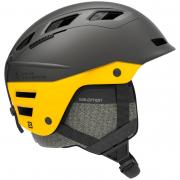 Шлем Salomon QST CHARGE grey/lemon chrome (2020)