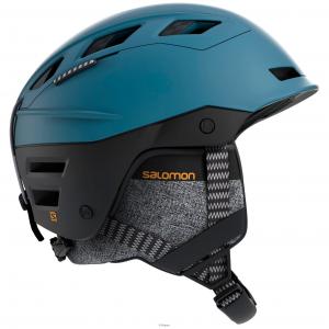 Шлем Salomon QST CHARGE moroccan blue/black (2020)
