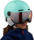 Шлем Salomon GROM VISOR aruba Glossy (2020) 1