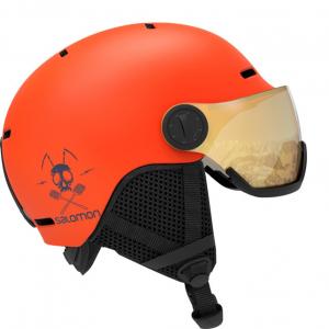 Шлем Salomon GROM VISOR flame (2020)