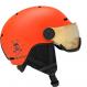 Шлем Salomon GROM VISOR flame (2020) 1
