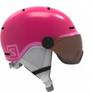 Шлем Salomon Grom Visor Glossy pink (2020)