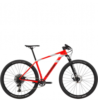 Велосипед Cannondale F-Si Carbon 3 (2020) Acid Red