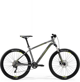 Велосипед Merida Big.Seven 300 (2020) SilkAnthracite/Green/Black