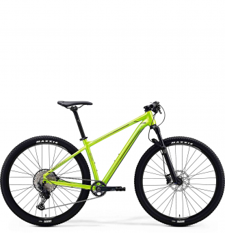 Велосипед Merida Big.Nine SLX Edition (2020) SilkSparklingBlue/SilverBlue