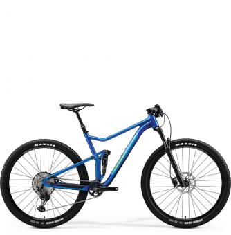 Велосипед Merida One-Twenty RC 9.XT Edition (2020) Glossy Medium Blue