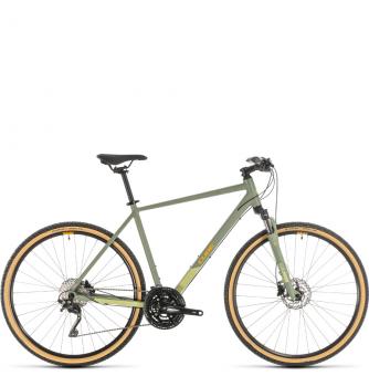 Велосипед Cube Nature Exc (2020) green´n´orange
