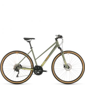 Велосипед Cube Nature Exc Trapeze (2020) green´n´orange