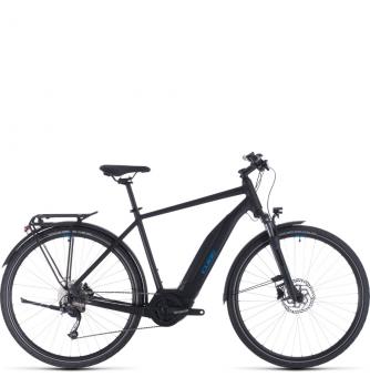 Электровелосипед Cube Touring Hybrid One 400 (2020) black´n´blue