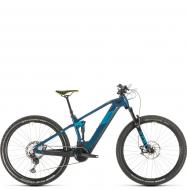 Электровелосипед Cube Stereo Hybrid 120 SL 625 29 (2020) blue´n´yellow