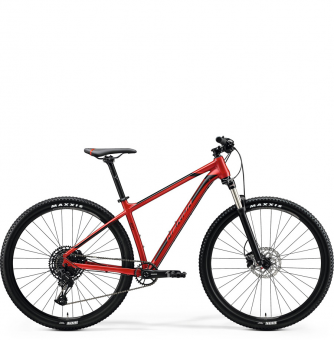 Велосипед Merida Big.Nine 400 (2020) SilkX'maxRed/Black/Red