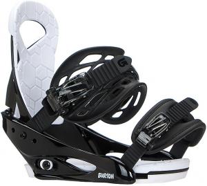 Крепления для сноуборда Burton SMALLS BLACK (2020)