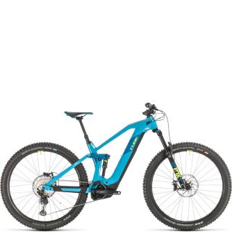 Электровелосипед Cube Stereo Hybrid 140 HPC SL 625 29 (2020) reefblue´n´yellow