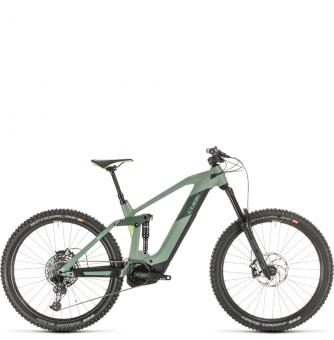 Электровелосипед Cube Stereo Hybrid 160 HPC SL 625 27.5 (2020) green´n´sharpgreen