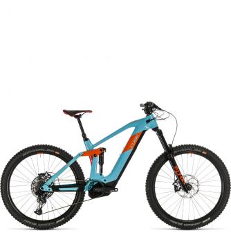 Электровелосипед Cube Stereo Hybrid 160 HPC SL 625 27.5 (2020) glacierblue´n´orange