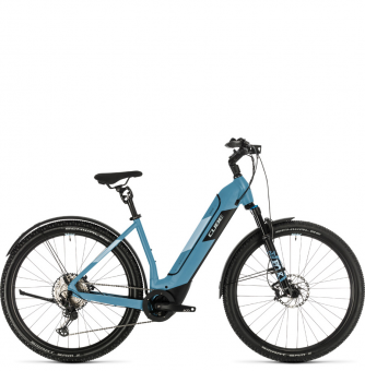 Электровелосипед Cube Nuride Hybrid SL 625 Allroad (2020) blue´n´blue