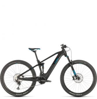 Электровелосипед Cube Stereo Hybrid 120 Race 625 29 (2020) black´n´blue
