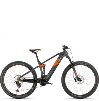 Электровелосипед Cube Stereo Hybrid 120 Race 625 29 (2020) grey´n´orange