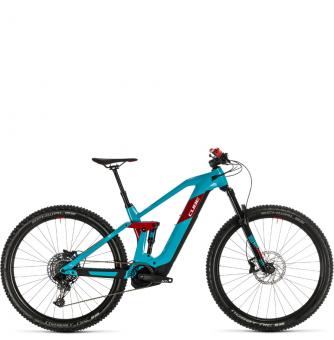 Электровелосипед Cube Stereo Hybrid 140 HPC Race 625 29 (2020) petrol´n´red