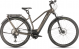 Электровелосипед Cube Kathmandu Hybrid SLT 625 EE Trapeze (2020) teak´n´silver 1