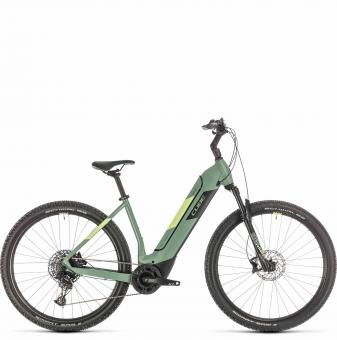 Электровелосипед Cube Nuride Hybrid EXC 625 (2020) green´n´sharpgreen