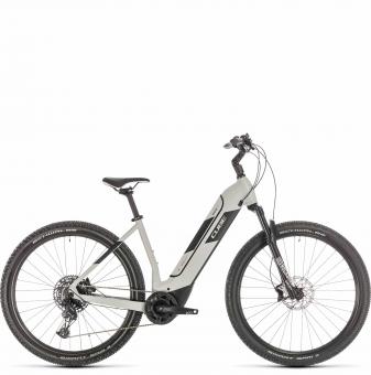 Электровелосипед Cube Nuride Hybrid EXC 625 (2020) grey´n´black