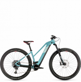 Электровелосипед Cube Access Hybrid SL 625 29 Trapeze (2020) blue´n´coral