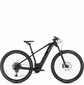 Электровелосипед Cube Access Hybrid SL 625 29 (2020) black´n´green