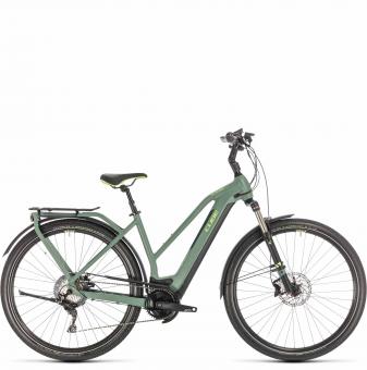 Электровелосипед Cube Kathmandu Hybrid Exc 625 Trapeze (2020) green´n´green