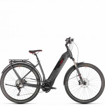 Электровелосипед Cube Kathmandu Hybrid Exc 625 Easy Entry (2020) iridium´n´red